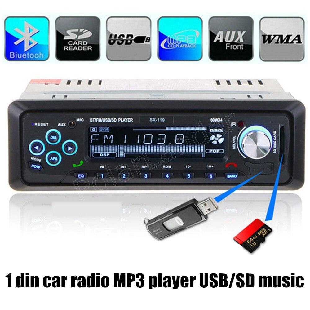 Best Selling Car Radio 12V Bluetooth Handsfree 1 Din