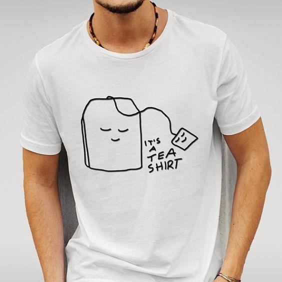 Caipira Novo é UM Chá Camisa Camiseta Camisa Trocadilho Novidade Tshirt Tshirt Engraçado Do Partido Presentes Idéia T-Shirt Dos Homens & das mulheres Verão 2017