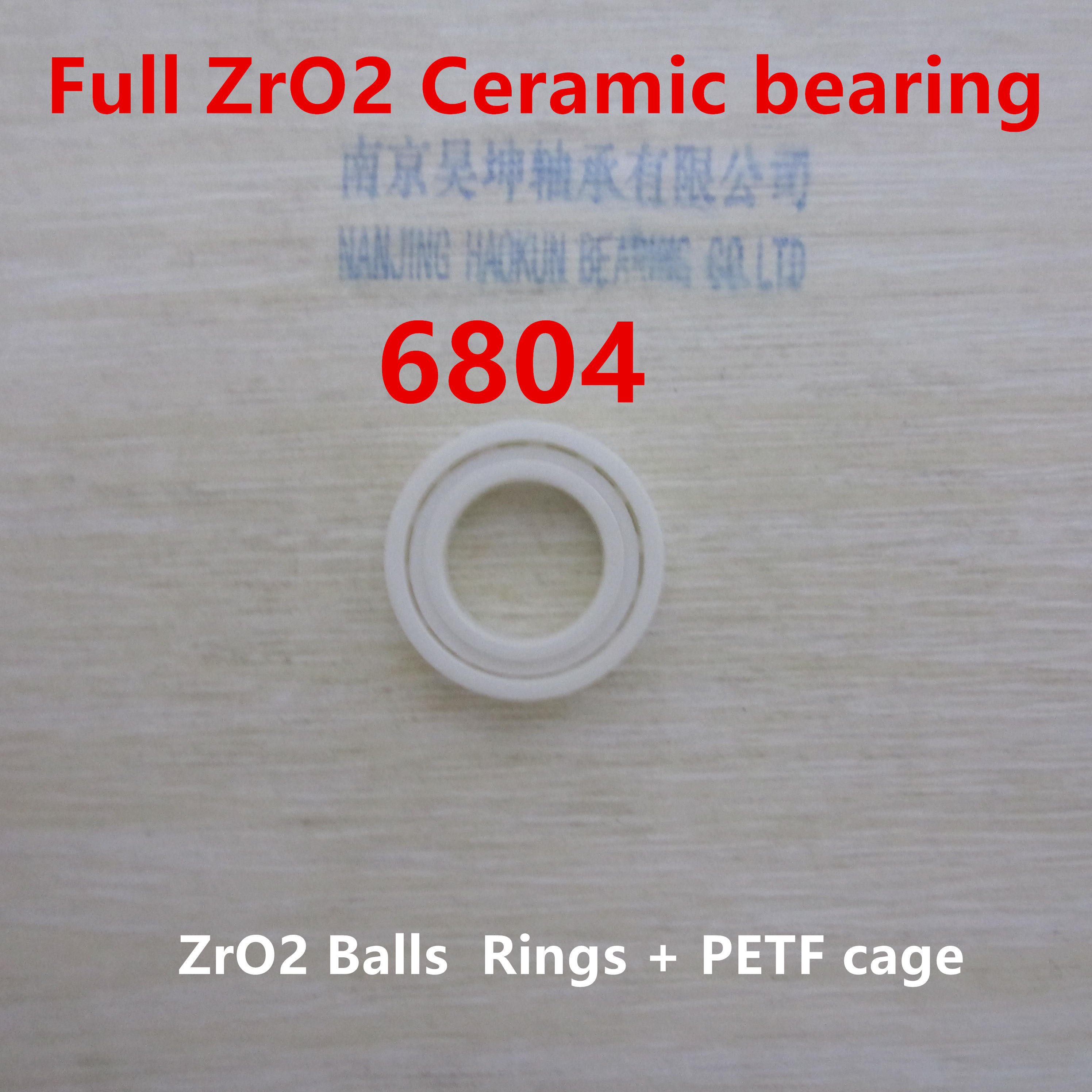 2017 Limited New Thrust Bearing Rolamentos Rodamientos 61804 6804cb Zro2 20*32*7mm Deep Groove Ball Thin Section Bearing 6804 2018 hot sale time limited steel rolamentos 6821 2rs abec 1 105x130x13mm metric thin section bearings 61821 rs 6821rs