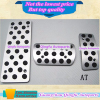 High Quality Car Styling Cover Aluminum Alloy Covers Foot Gas Brake Rest Accelerator Pedal AT For
