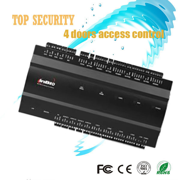 Inbio460 fingeprint and card access control panel TCP/IP communication use RS485 connect with FR1200  vs3024bn new pwm controller network access computer control can connect with mt50 for communication