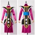 2016 Dragonball служитель Бога разрушения Свисток Наряд Равномерное Хэллоуин Косплей Костюм Платье Для Женщин Девушки