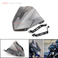 Windshield Windscreen For YAMAHA MT 07 FZ 07 2018 2019 Motorcycle Accessories Pare brise Wind Deflectors MT07 FZ07 MT FZ 07