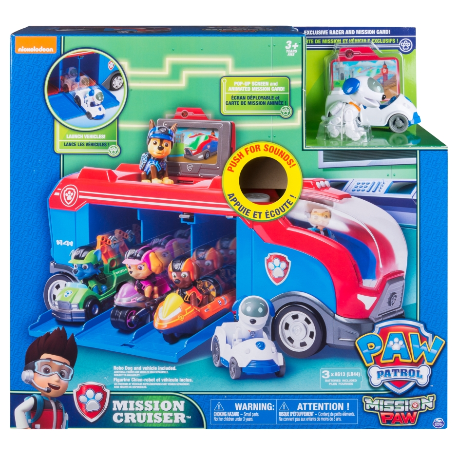 Paw Patrol Dog Rescue Bus Puppy Patrol Rescue Bus Animation Character Ryder Patrulha Canina Action Figure Model Children Gift