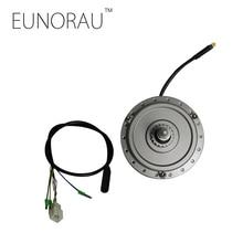DGW12R 36V250W silver front hub motor with roller brake 255RPM speed sensor integrated