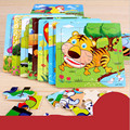 Hot Sale Wooden Puzzle Cartoon Kids Baby Toys Wood Puzzles Puzzle for Child Learning Educational Children's Toys 3D Puzzle Gifts