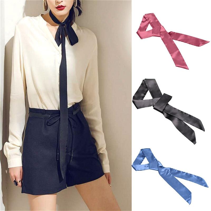 4cm Wide Multicolor Ribbon Tassel Statement Necklace Women Fashion Jewelry Cloth AccessoriesGifts Black Red Blue White Colors