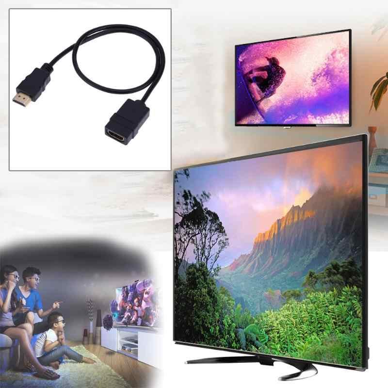 HDMI Cable 0.5 M 4 K * 2 K 60Hz HDMI 2.0 Nam để Nữ chuyển đổi Adapter Cáp Mở Rộng cho Set-top Box Máy Tính Xách Tay DVD Máy Tính PS3/4