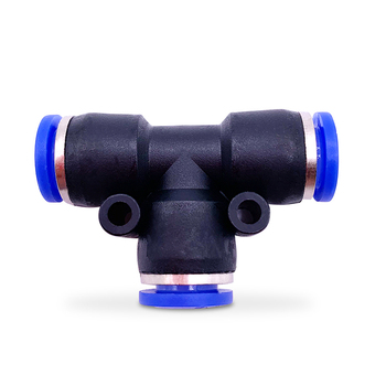 цена на Pneumatic Fittings PET 4mm 6mm 8mm 10mm 12mm Air Water Hose Tube One Touch Straight Push-In Plastic Quick Connector Tube Fitting