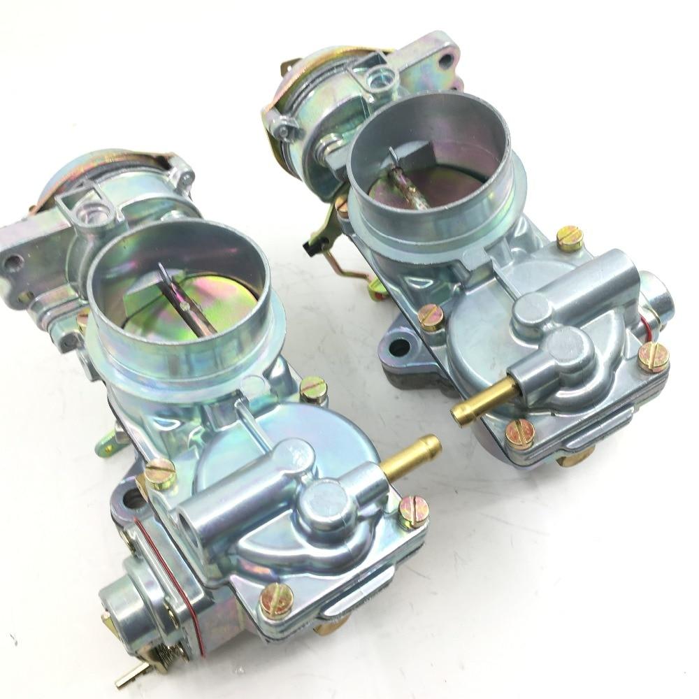 SherryBerg Carburetor Carburettor Carb Fit For Solex Brosal H32/34 PDSI Bus T2 /Bus T3/Typ-3 Pair (R&L)  Fajs  Pict Carby EMPI