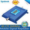 4G LTE 2600Mhz Mobile Phone Signal Booster , 1000 square coverage 4G LTE Signal Repeater , Cell Phone Amplifier