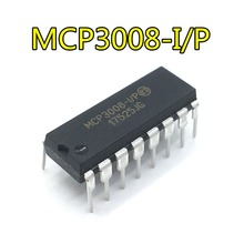 5 PCS/LOT MCP3008-I/P MCP3008 DIP Original electronics IC kit