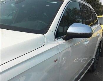 לאאודי Q7 2016 2017 מבט האחורי צד כיסוי מראה חיצוני דלת לקצץ ABS כרום מט 2 יחידות