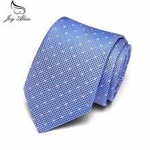 New Skinny Mens Ties Luxury Man Floral Dot Neckties Hombre 7.5 cm Gravata Slim Tie Classic Business Casual For Men