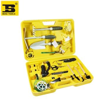 BOSI 18pc garden tool set,china top ten brand
