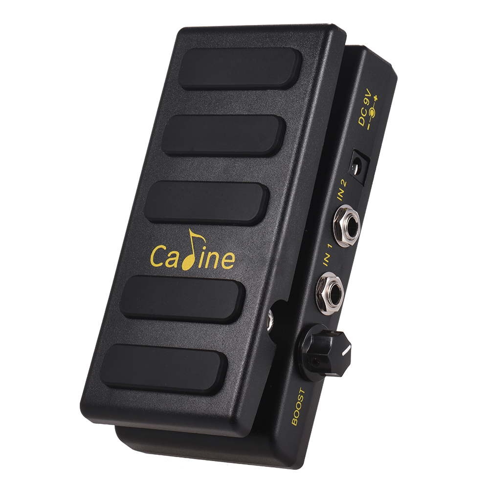 Caline CP 31P Volume Guitar Pedal Dual Channels Guitar Effect Pedal with Boost Function True Bypass