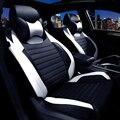 Cuero del asiento de coche especial cubre Para Land Rover discovery freelander range rover evoque Deporte 2017-2014 accesorios car styling