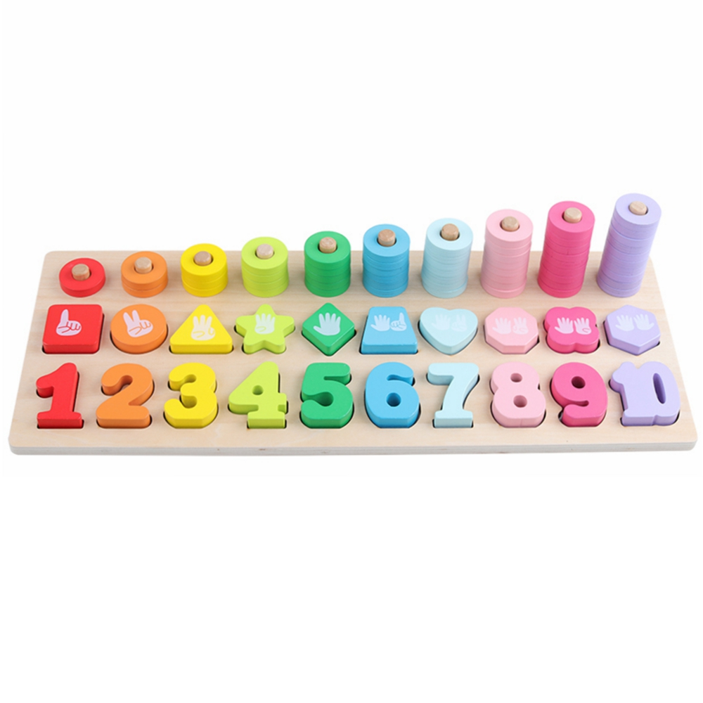 Preschool Montessori Educational Wooden Toys Teaching Aids Learning Montessori Materials Wooden Montessori Math Toy For Children