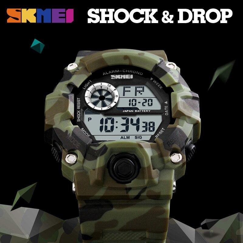 SKMEI Νέο G Style Ψηφιακό ρολόι Άνδρες - Ανδρικά ρολόγια - Φωτογραφία 6
