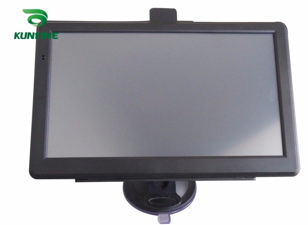 7 zoll Wince 6,0 Auto GPS Navigation Radio 8 GB 256 M Lkw Fahrzeug GPS Navigatoren Lkw Rückansicht Kamera bildschirm Kostenloser Karte Upgrade