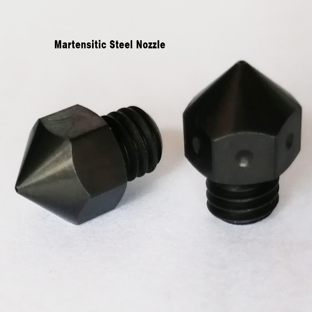 2pcs nozzle F160 0.4mm diameter martensitic steel nozzle Original CreatBot Printer Parts hotend 1.75mm filaments available Printer Parts Computer & Office - title=