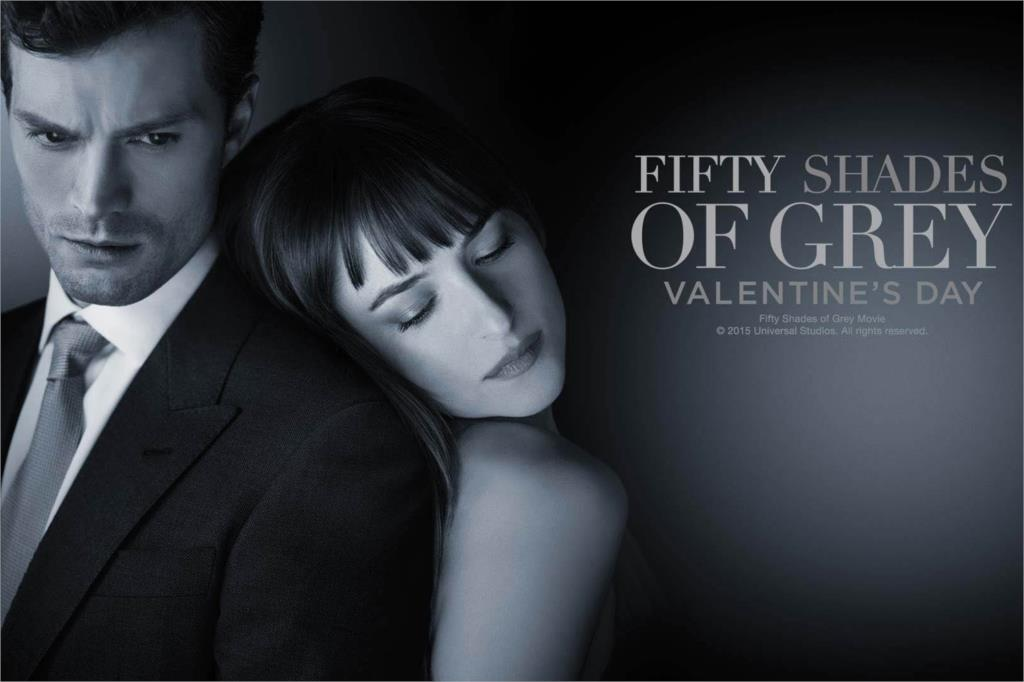 DIY frame Fifty Shades of Grey Love Movie Classic Poster Home Decoration Silk Wall Poster -High quality Picture Print For Gift