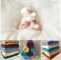 100% cobertor de lã recém-nascido fotografia adereços cesta Stuffer cobertor do bebê foto Prop fundo posando Carpet cetim 60 * 60 CM
