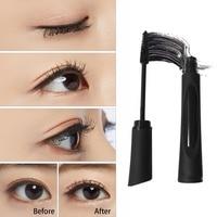 Women's Natural 3D Fiber Black Mascara Set 2 Pcs