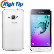 J120 Smartphone Samsung Galaxy J1 (2016) SM-J120 8GB ROM `1GB RAM LTE android Mobile cell phones original 5MP 4g DUAL SM-J120