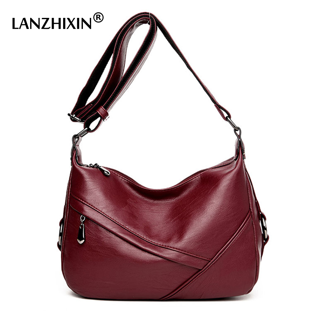 Lanzhixin Female Luxury Shoulder Bags High Quality Fashion Lady Retro Satchel Tote Bags Women Messenger Bags Crossbody Bags 1608