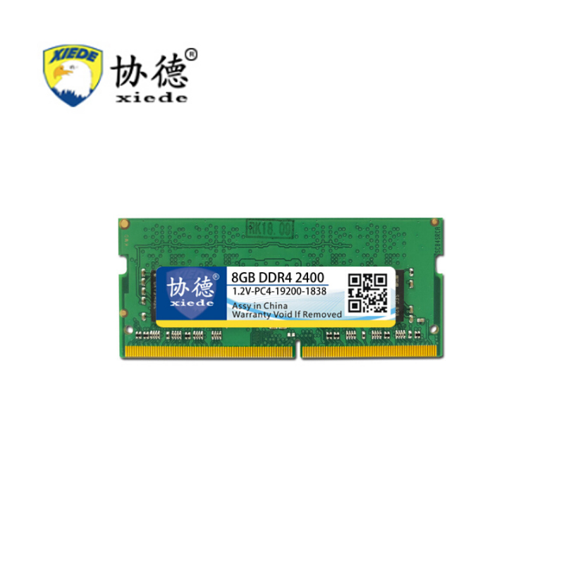 For XieDe Memory Ram <font><b>DDR4</b></font> 4GB for Laptop <font><b>Notebook</b></font> Sodimm <font><b>Memoria</b></font> Compatible With DDR 4 2133Mhz 2400Mhz 2666Mhz <font><b>8GB</b></font> 16GB PC4 image