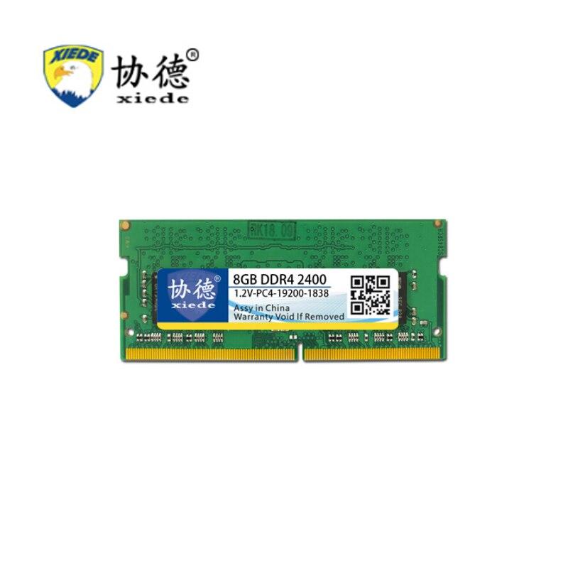 Pour XieDe Mémoire Ram DDR4 4 GB pour Ordinateur Portable Ordinateur Portable Sodimm Memoria Compatible Avec DDR 4 2133 Mhz 2400 Mhz 2666 Mhz 8 GB 16 GB PC4