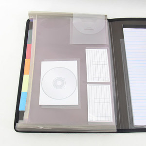 Image 4 - משרד משולב עסקים ארגונית תיק A4 תיקיית קובץ הרחבת תיקיית תיק עבור מסמכים