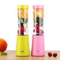 2018 Mini Personal Blender Portable Sport Bottle Juice Extractor Milk Shake Fruit Vegetable Hand Blender DIY Drink Juicer