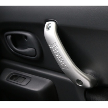 2Pcs/Lot Aluminum Alloy Internal Door Grab Handle Cover Sticker Suitable for Suzuki Jimny Car Accessories