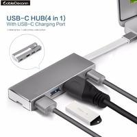 Thunderbolt 3 Dock 4IN1 USB Type C To UHD HDMI 4K USB3 0 Hub USB2 0