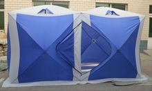 2016 Hot sale Eskimo 3persons outdoor camping pop up automatic quick opening fire retarding ice fishing beach house tent