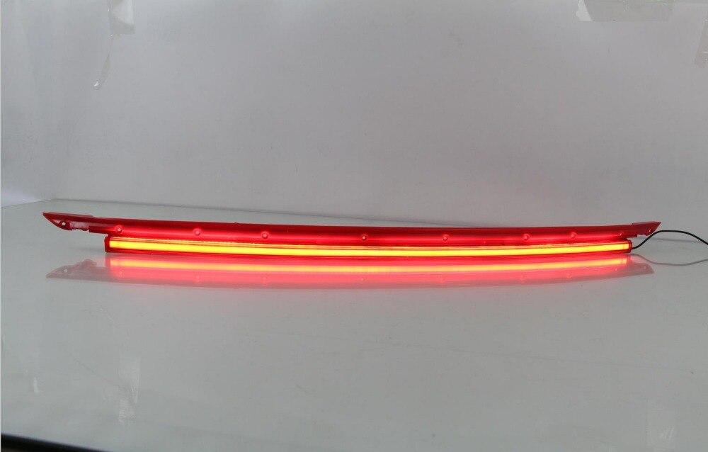 eOsuns светодиодные задние бампера света, дальнего света, стоп-сигнал для Kia KX5 2016, беспроводной переключатель управления, динамические световые конструкции