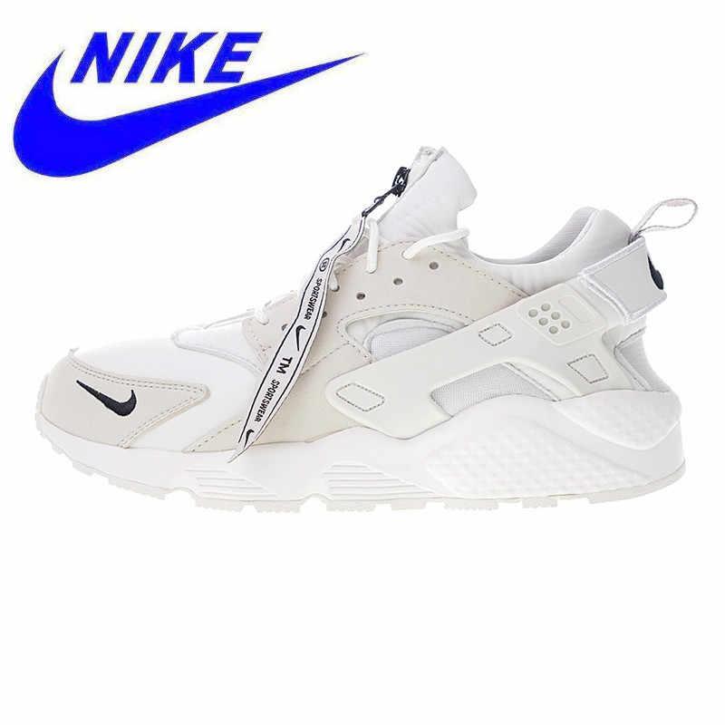 san francisco 9841a fe14c Original Nike Air Huarache Run AS QS Men s Running Shoes, Beige, Shock  Absorption Breathable