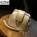 KZNI bags handbags women famous brands genuine crossbody bags for women bolsas femininas bolsas de marcas famosas L010339