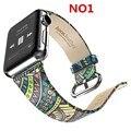 НОСО 2016 Новый Apple Watch Кожаный Ремешок Ремешок Для Часов Iwatch разъем для apple Watch 38 мм/42 мм