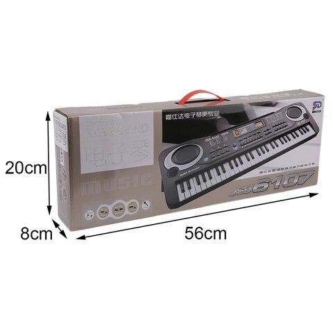 de musica digital teclado eletronico placa brinquedo