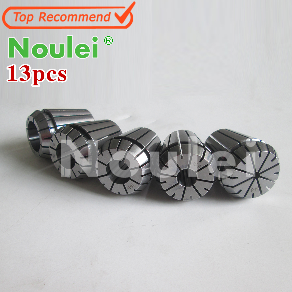 Top Quality ER16 collet chuck set 13 pcs for CNC milling lathe tool and spindle motor купить
