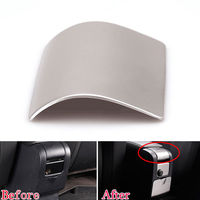 BBQ@FUKA Auto Car Steel Center Console Armrest Panel Decal Cover Trim Sticker Fit For Volvo XC60 V60 S60