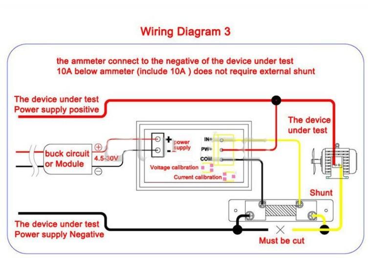 US $12.91 12% OFF DC 0 100V/500A Dual Volt/Amp Meter Digital Voltage on
