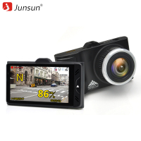 Junsun A795 Car DVRs GPS Camera 2 In 1 LDWS Speedcam Ambarella A7LA50 Full HD 1296P