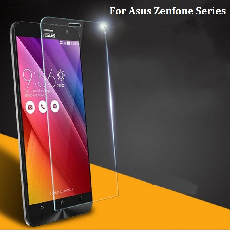 2016 Tempered Glass For Asus ZENFONE 4 5 6 C GO Max 5.5 ZE500CL ZE550ML 2 LASER ZE550KL ZE500KL Selfie ZD551KL Screen Protector