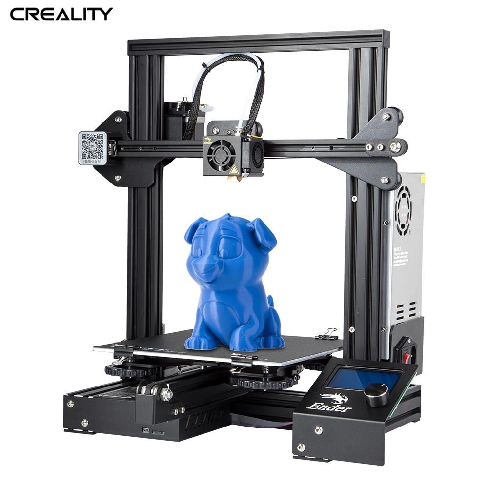 Criatividade 3D Ender-3/Ender-3X Aberto Construir Impressora Construir Superfície Plataforma fora do Poder Retomar A Impressão de 220*220*250 MM