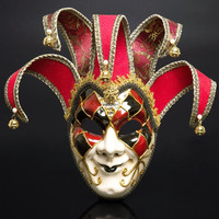 Festive & Party Supplies Full Face Halloween Party Clown Mask Scary Horror Mask