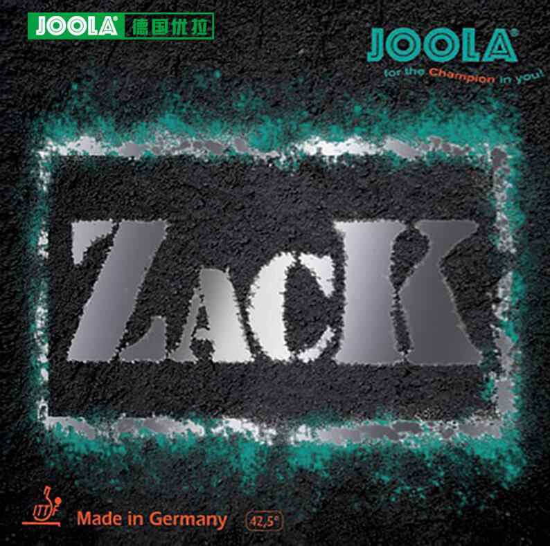 Joola Original ZACK Table Tennis Rubber Pimples In With Sponge Ping Pong Rubber
